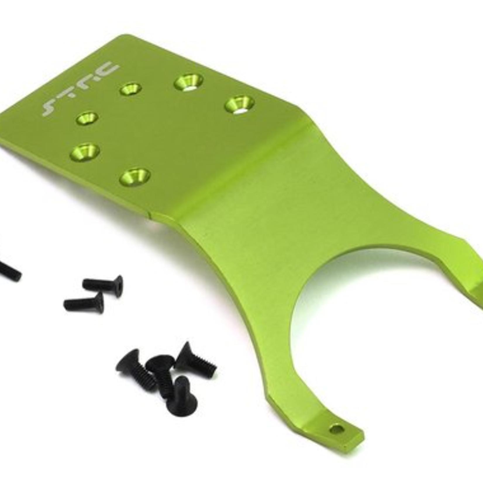 ST Racing Concepts SPTST3623RG ST Racing Concepts Stampede/Slash Aluminum Rear Skid Plate (Green)