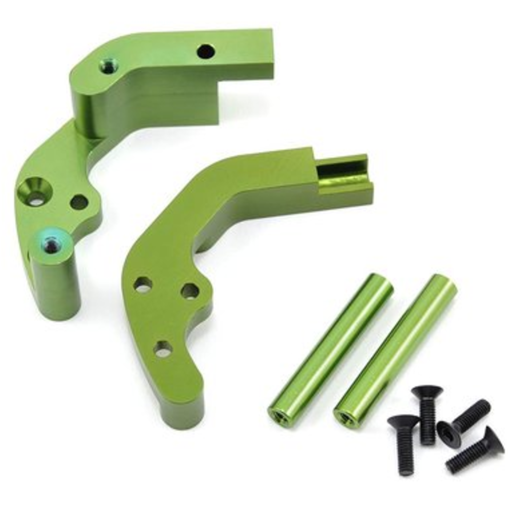 ST Racing Concepts SPTST3677G ST Racing Concepts CNC Machined Aluminum Rear Motor Guard for Traxxas cars/trucks (Green)