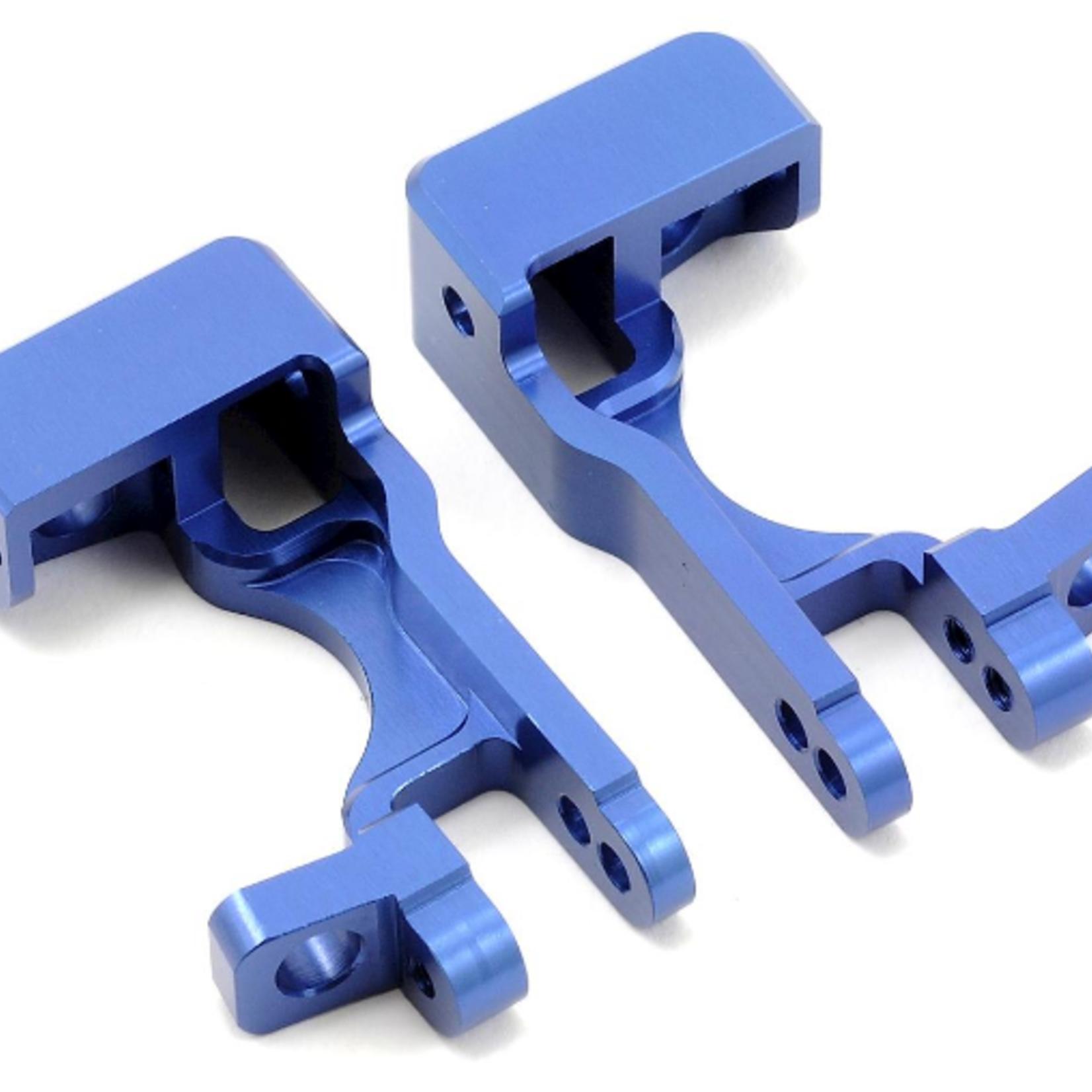 ST Racing Concepts SPTST6832B ST Racing Concepts Alum Front C Hubs For Slash 4X4 (Blue)