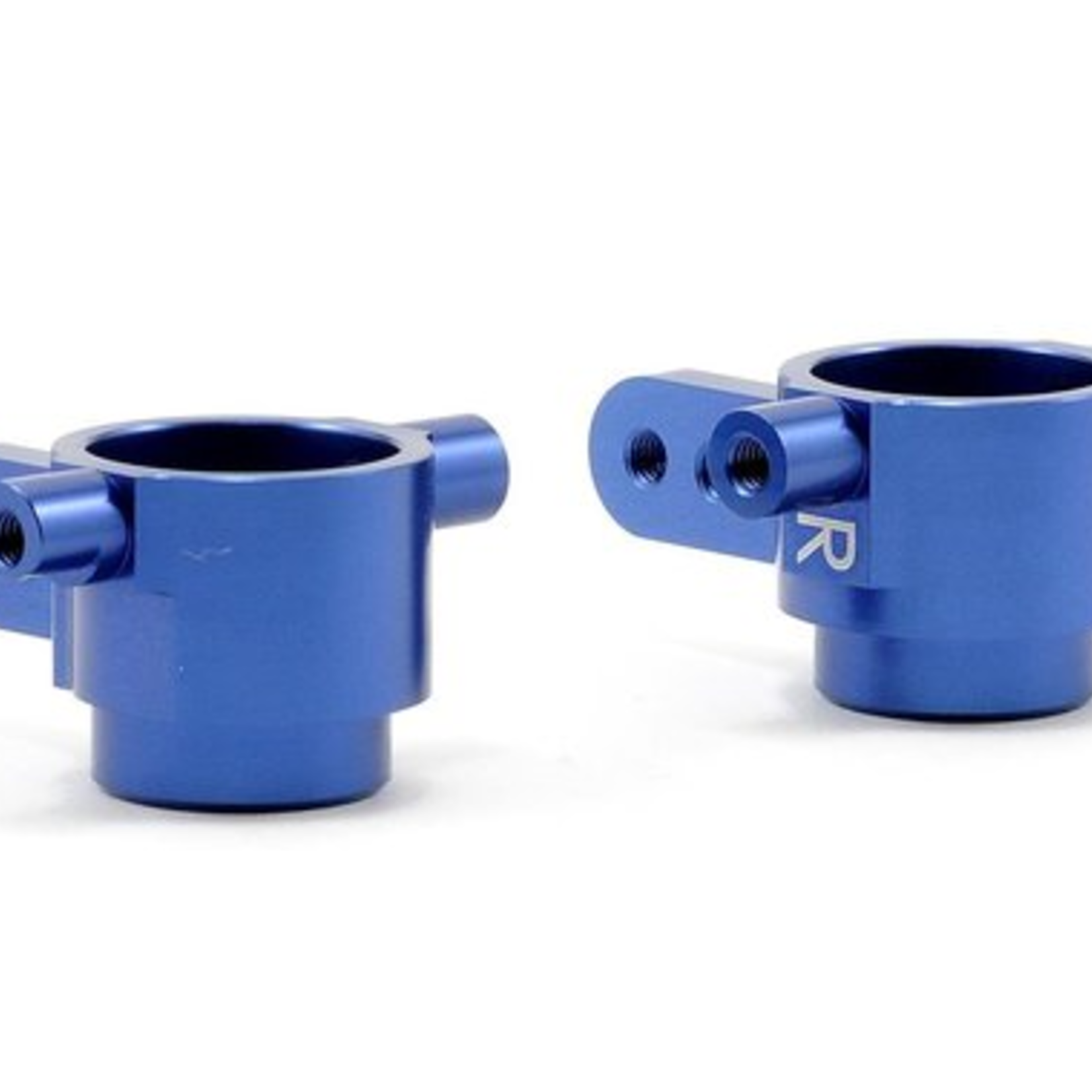 ST Racing Concepts SPTST6837B ST Racing Concepts Alum Front STeering Knuckles For Slash 4X4 (Blue)