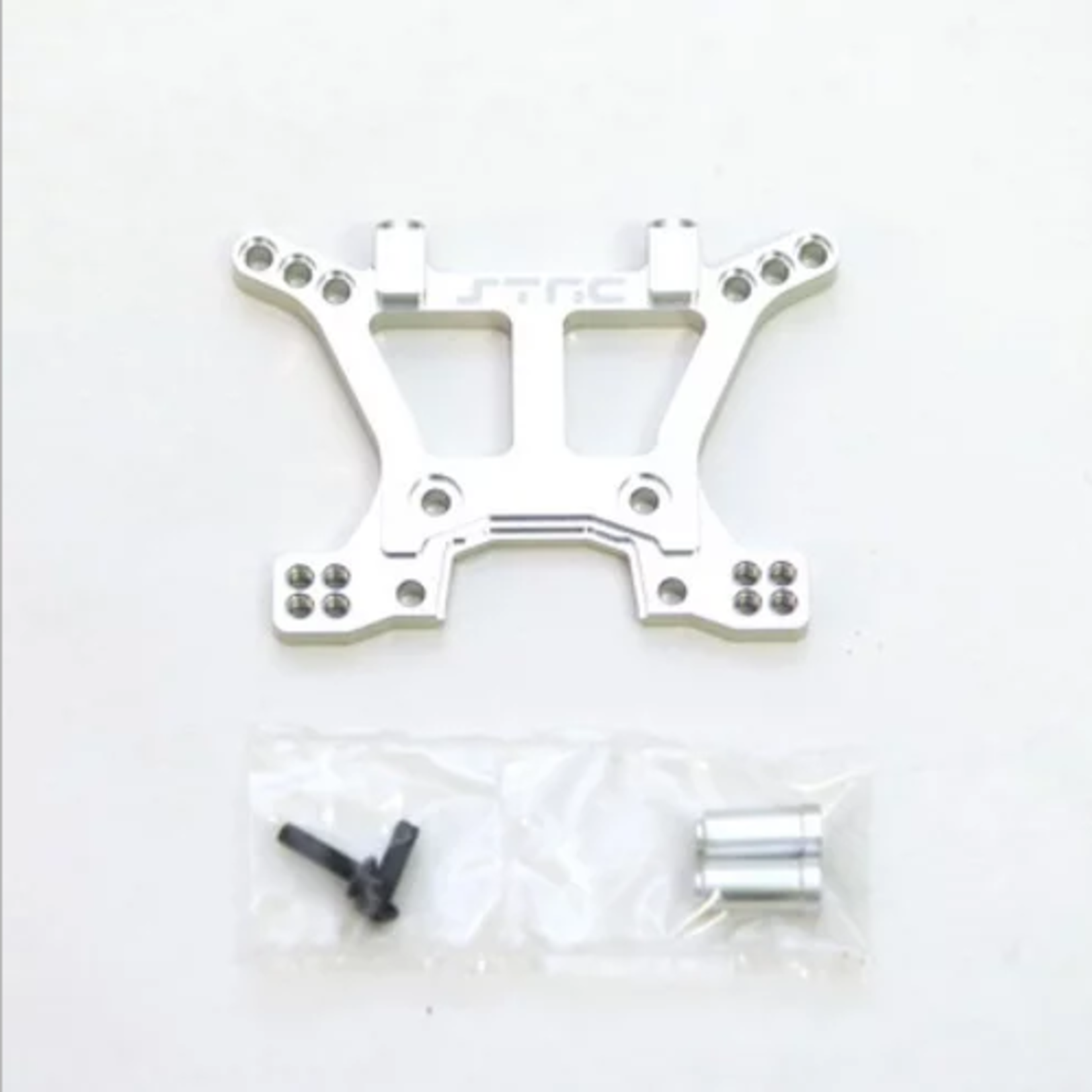 ST Racing Concepts SPTST6839S ST Racing Concepts Alum HD Front Shock Tower For Slash 4X4 (Silvr)