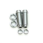 ST Racing Concepts SPTST3766XS ST Racing Concepts Aluminum Threaded Rear Shock Body Set (Silver) (2) (Slash)