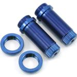 ST Racing Concepts SPTST3765XB ST Racing Concepts Aluminum Threaded Front Shock Body Set (Blue) (2) (Slash)