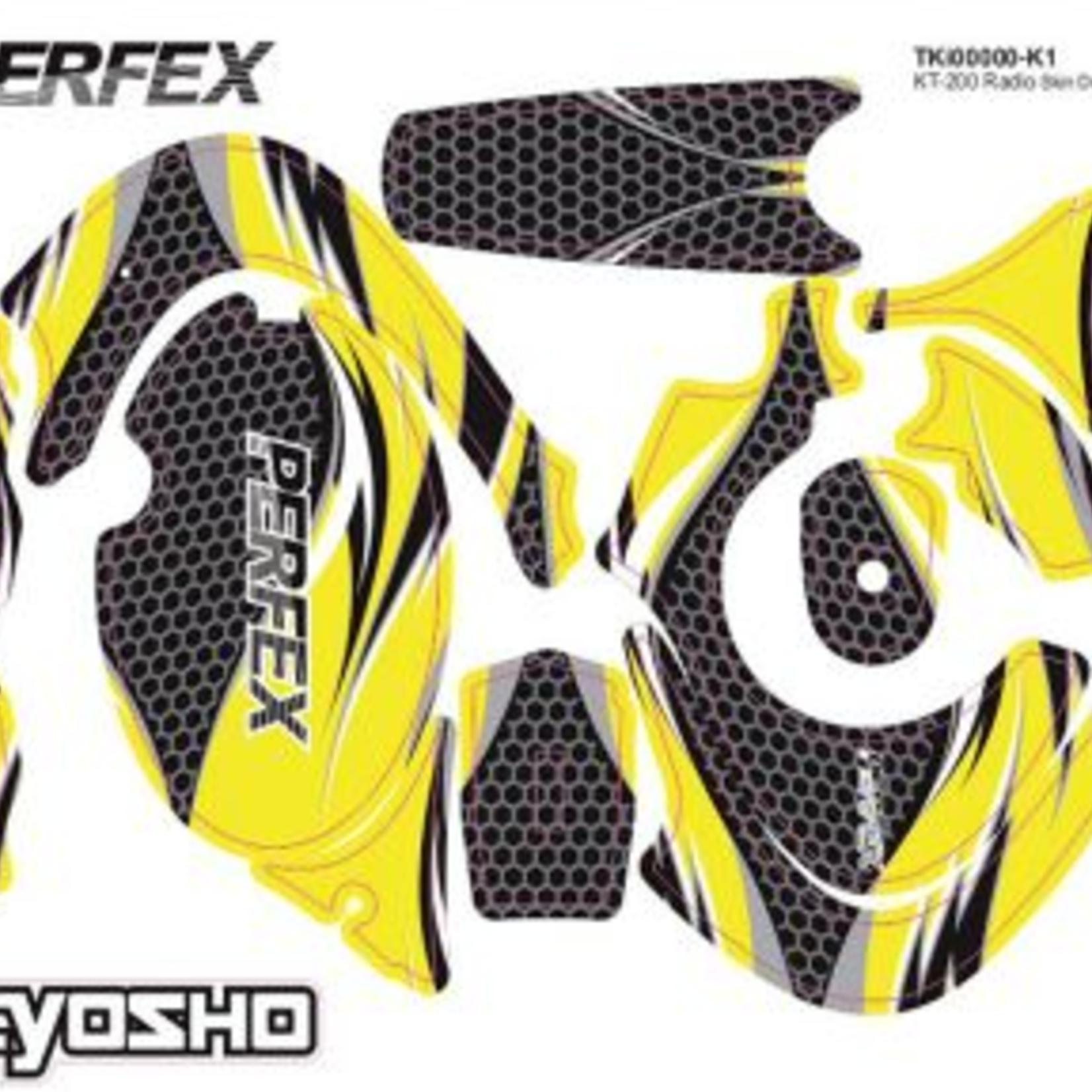 Kyosho KYO36270 Kyosho Radio Skins Decal (for KT-18)