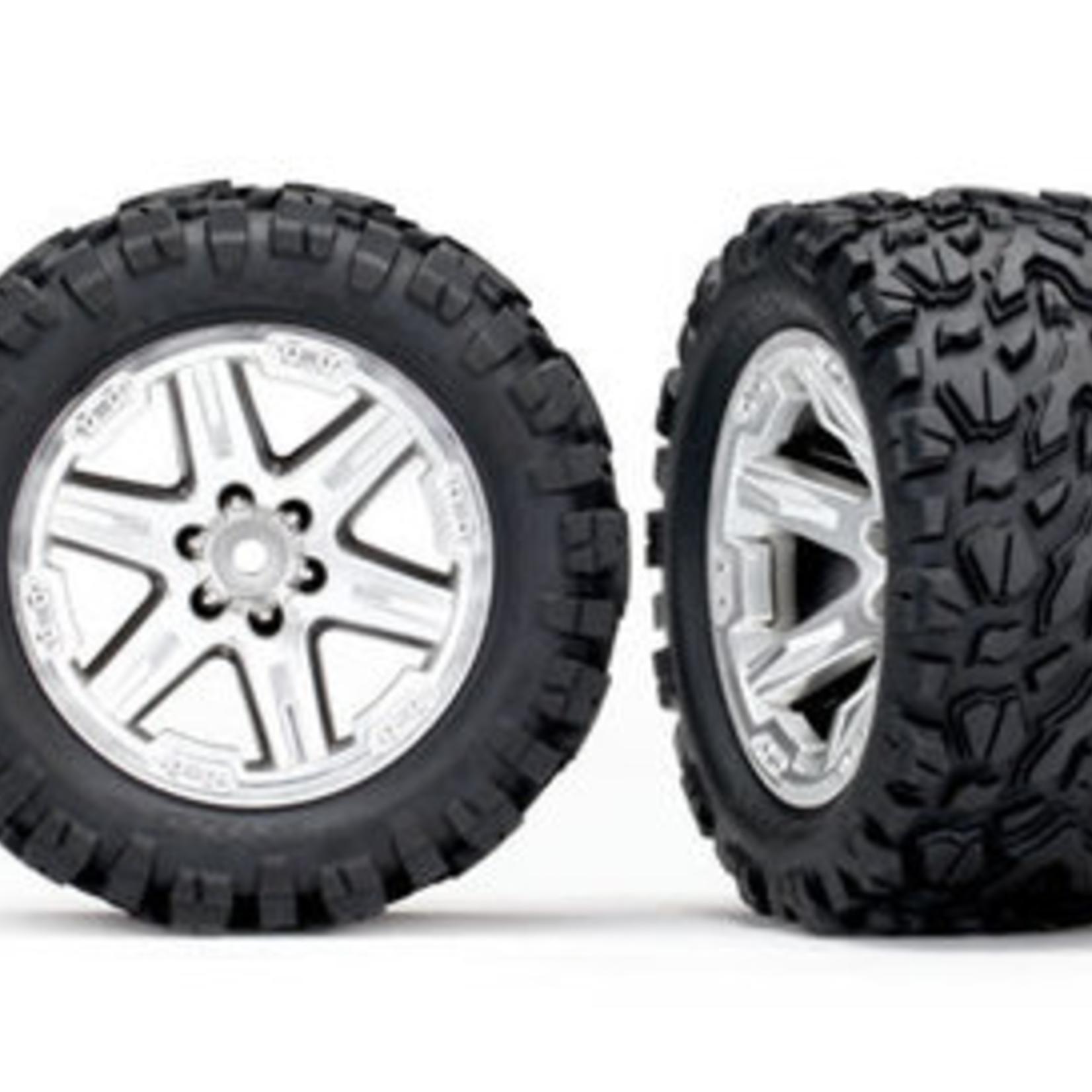 ARRMA ARA550069 Arrma dBoots 'Fortress' Tyre Set Glued Gun Metal (Pair)