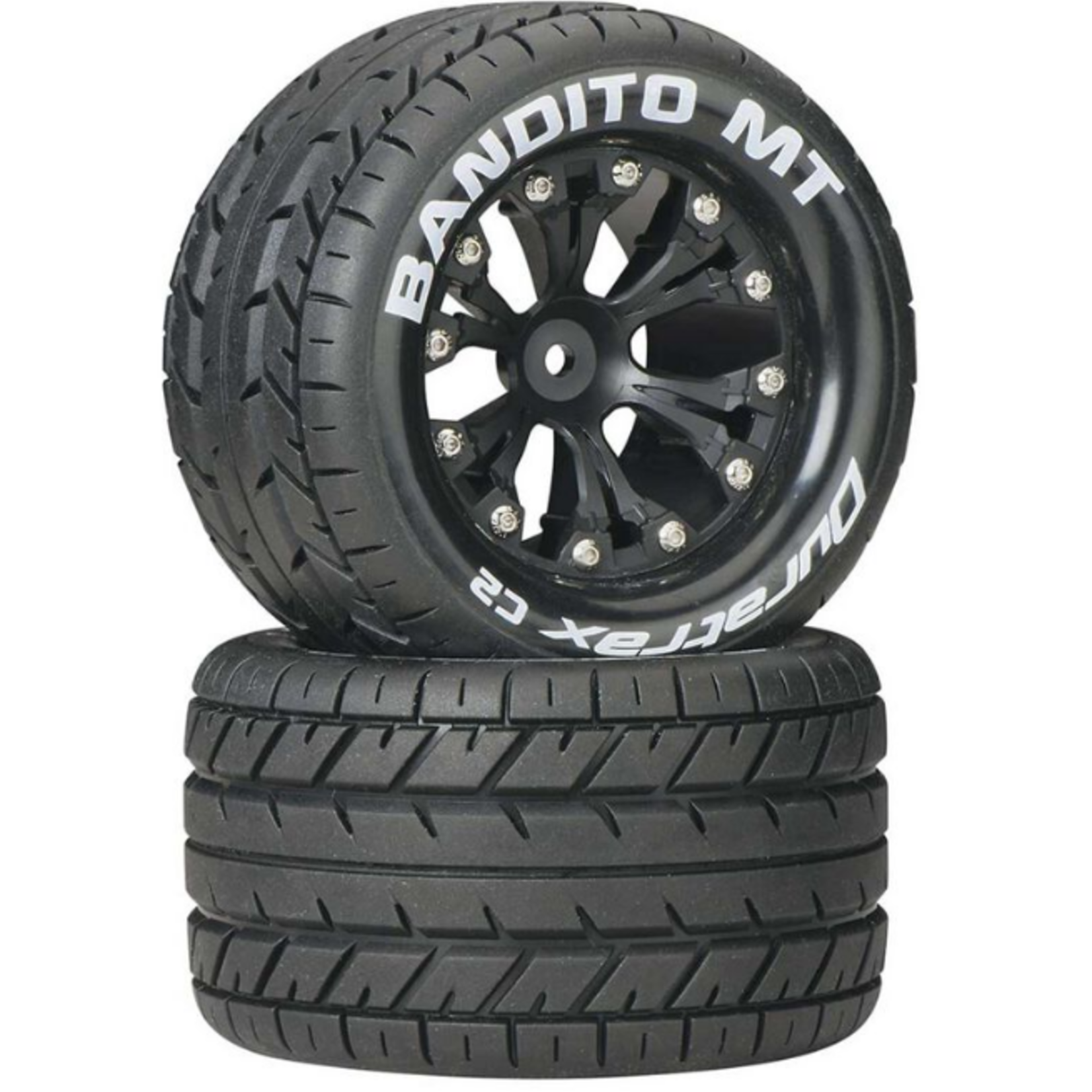 "Duratrax DTXC3502 Duratrax Bandito MT 2.8"" 2WD Mounted Rear C2 Black (2)"