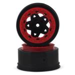 JConcepts JCO3391BR JConcepts Tremor SLH Rr/SLH 4x4 F/R wheel-BLK/RED BDLCK (2)