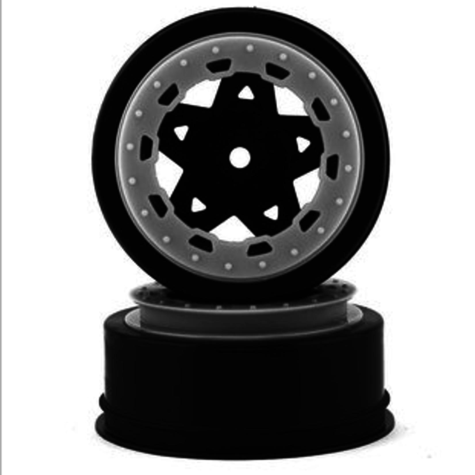 JConcepts JCO3390BW JConcepts Tremor Slash narrow front wheel-BLK/WHT BDLCK (2)