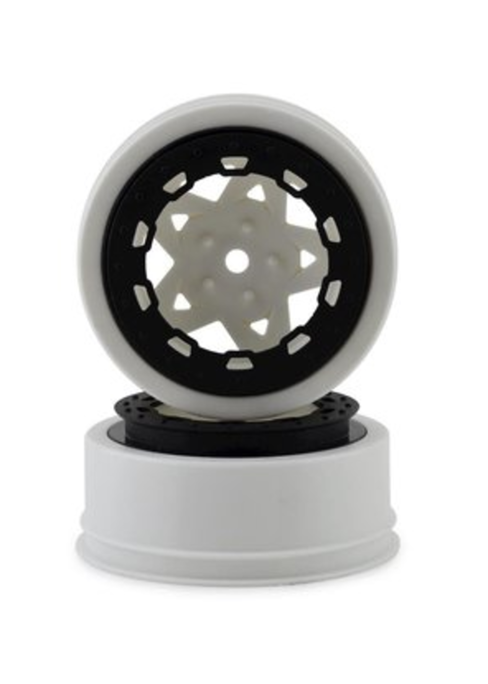 JConcepts JCO3390WB JConcepts Tremor Slash narrow front wheel-WHT/BLK BDLCK (2)
