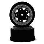 JConcepts JCO3391RB JConcepts Tremor SLH Rr/SLH 4x4 F/R wheel-RED/BLK BDLCK (2)