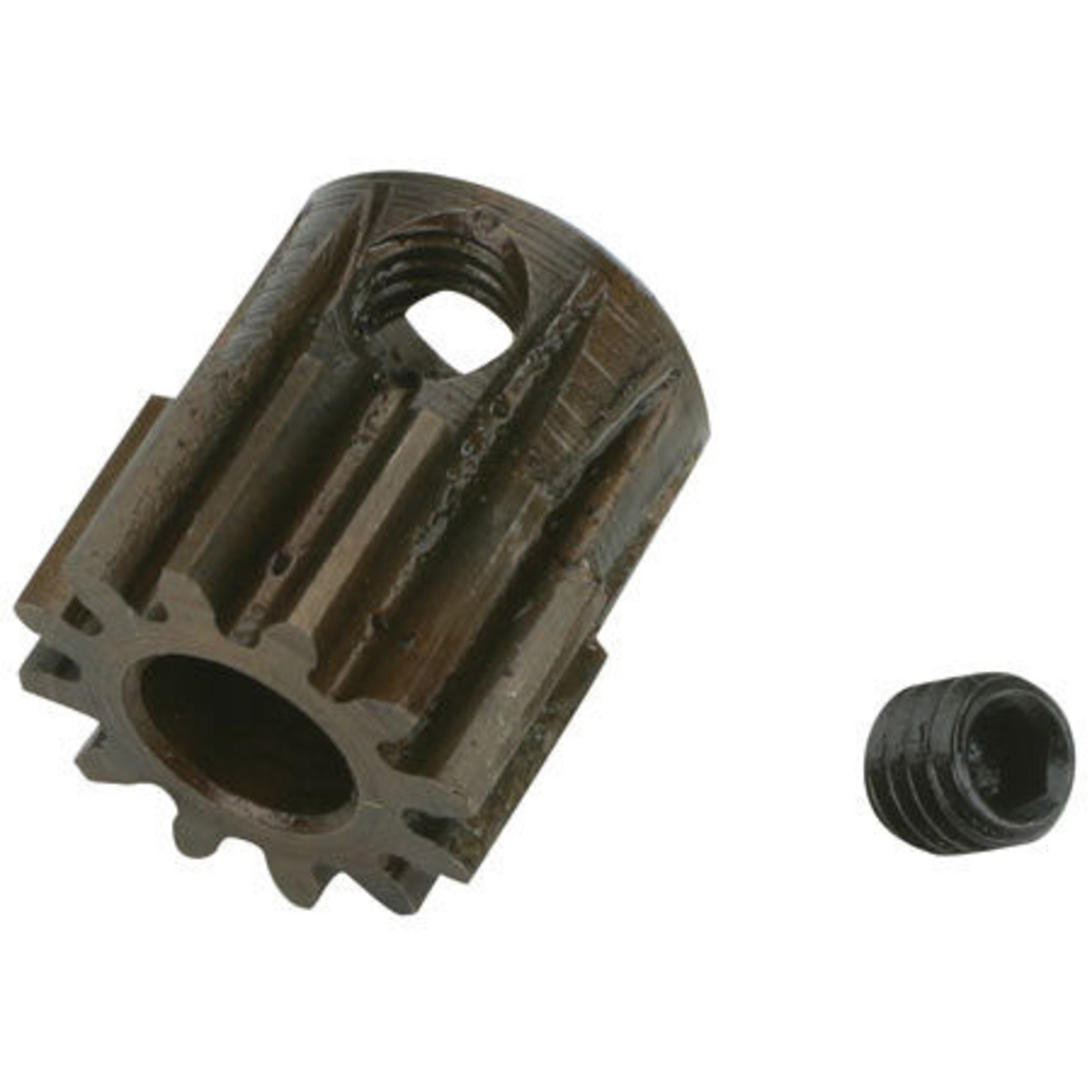 Robinson Racing Products RRP8712 Robinson Racing Extra Hard Steel .8 Mod Pinion Gear w/5mm Bore (12T)