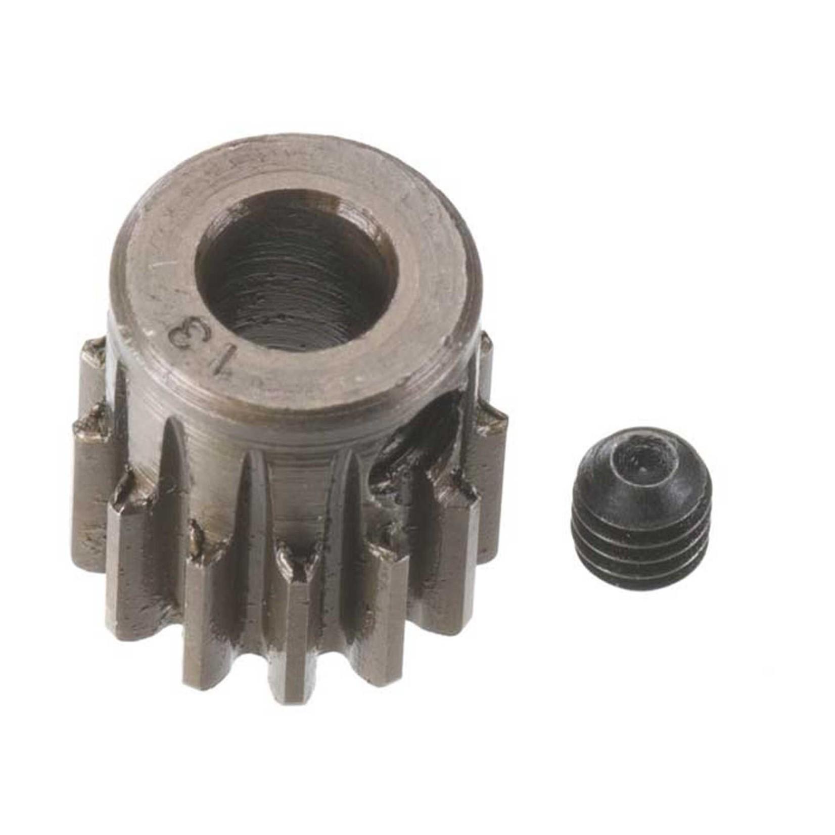 Robinson Racing Products RRP8713 Robinson Racing Extra Hard Steel .8 Mod Pinion Gear w/5mm Bore (13T)