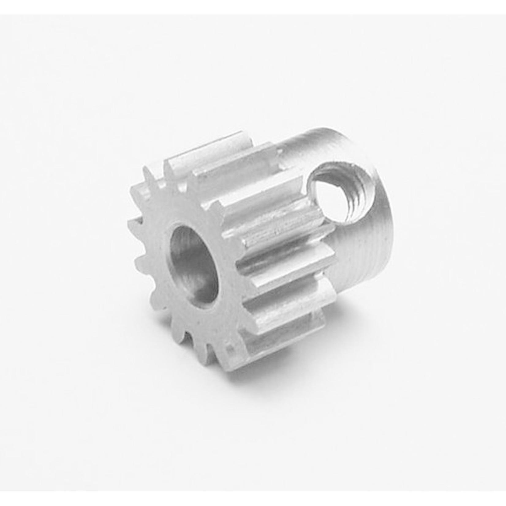 Robinson Racing Products RRP8715 Robinson Racing Extra Hard Steel .8 Mod Pinion Gear w/5mm Bore (15T)