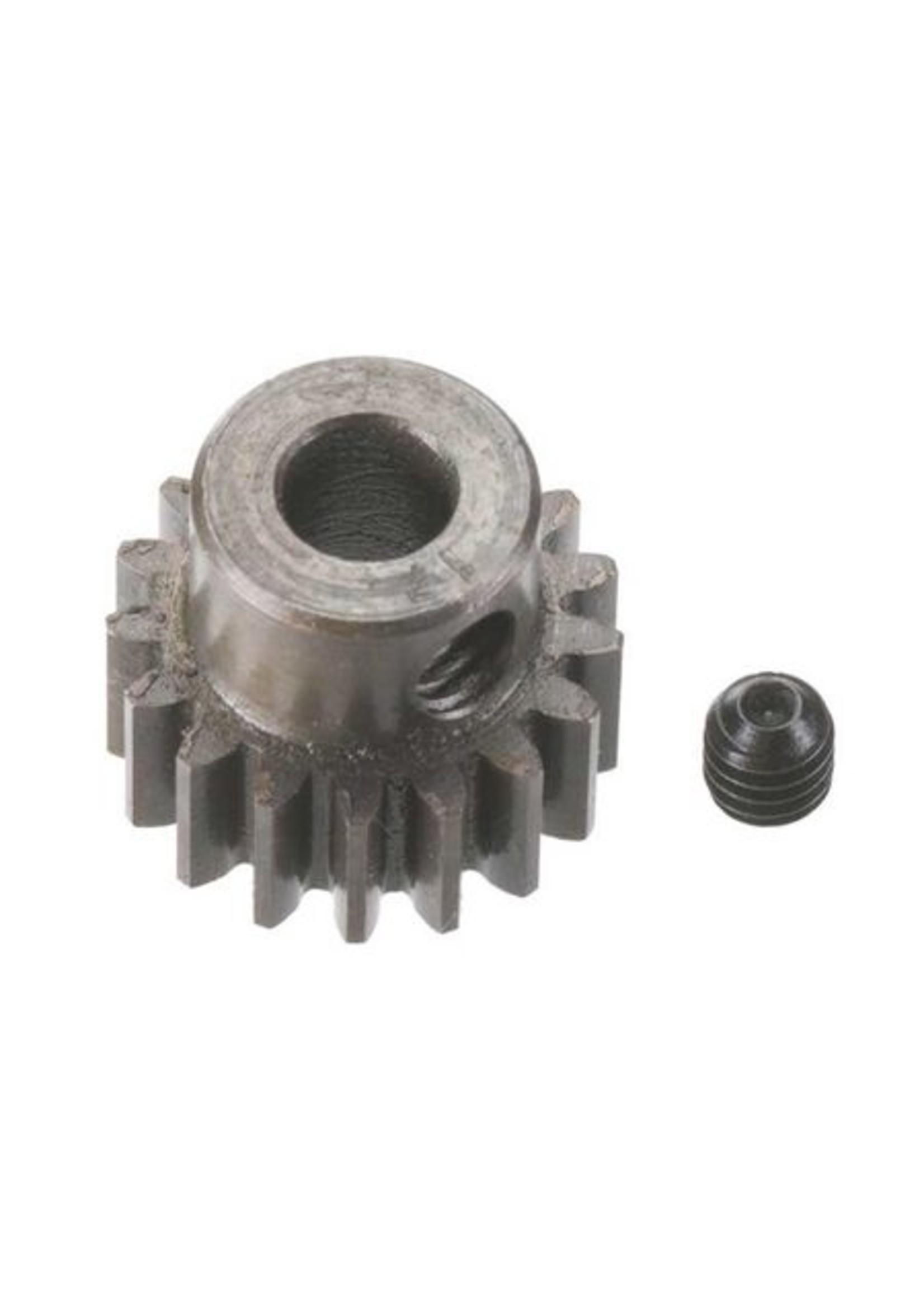Robinson Racing Products RRP8717 Robinson Racing Extra Hard Steel .8 Mod Pinion Gear w/5mm Bore (17T)