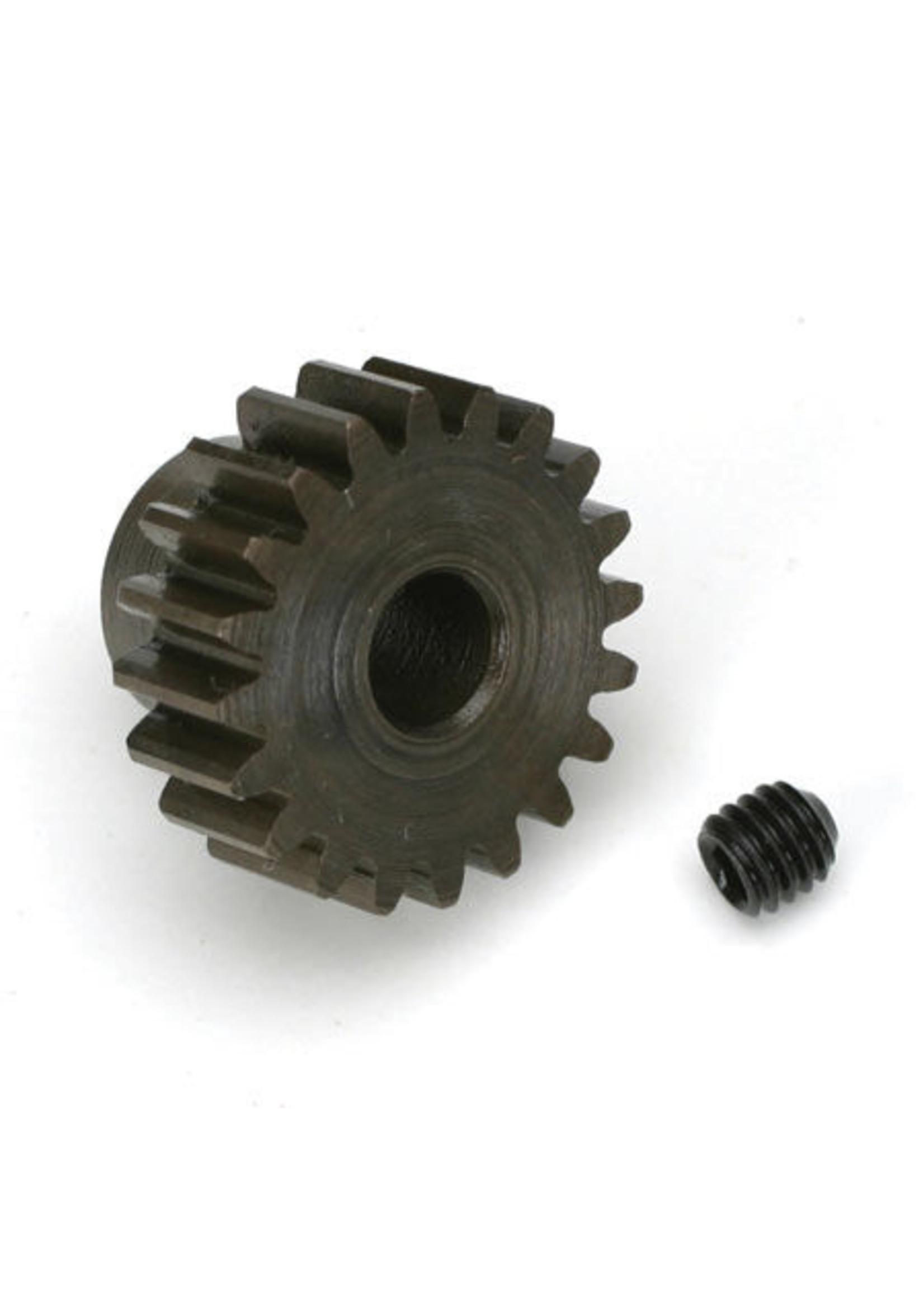 Robinson Racing Products RRP8720 Robinson Racing Extra Hard Steel .8 Mod Pinion Gear w/5mm Bore (20T)
