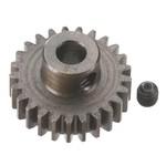 Robinson Racing Products RRP8725 Robinson Racing Extra Hard Steel .8 Mod Pinion Gear w/5mm Bore (25T)