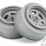 Pro-Line Racing PRO2793-05 Proline Slot Mag Drag Spec 2.2/3.0 Stone Gray Wheels