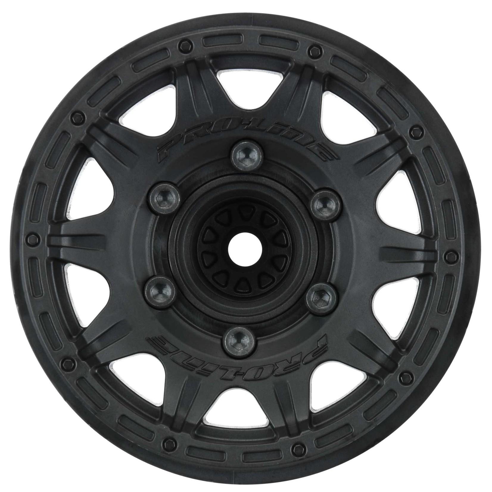 Pro-Line Racing PRO2774-03 Pro-Line Raid 2.8'' Black 6x30 Removable Hex Wheels F/R