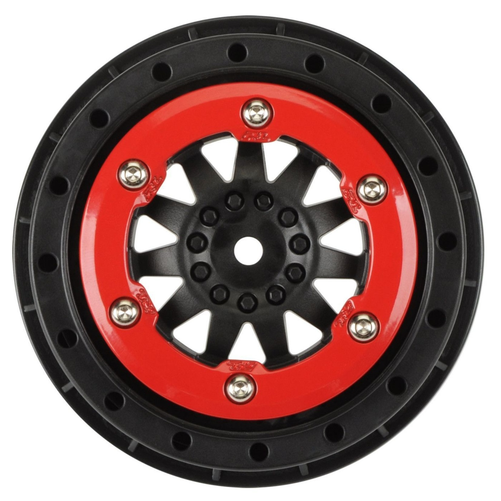 Pro-Line Racing PRO2745-03 Pro-Line ProTrac Suspension Kit F-11 2.2/3.0 Red/Black  Bead Los Wheels
