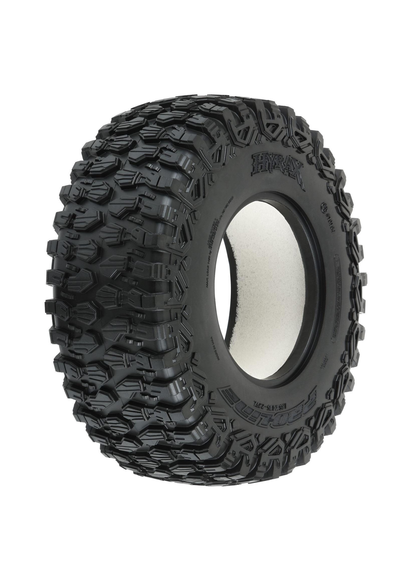 Pro-Line Racing PRO10164-00 Pro-Line Hyrax SCXL 2.2/3.0'' M2 All Terrain Tires, for Desert & SC