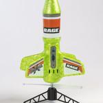 Rage RC RGR4131G Rage Spinner Missile X Electric Free-Flight Rocket Green