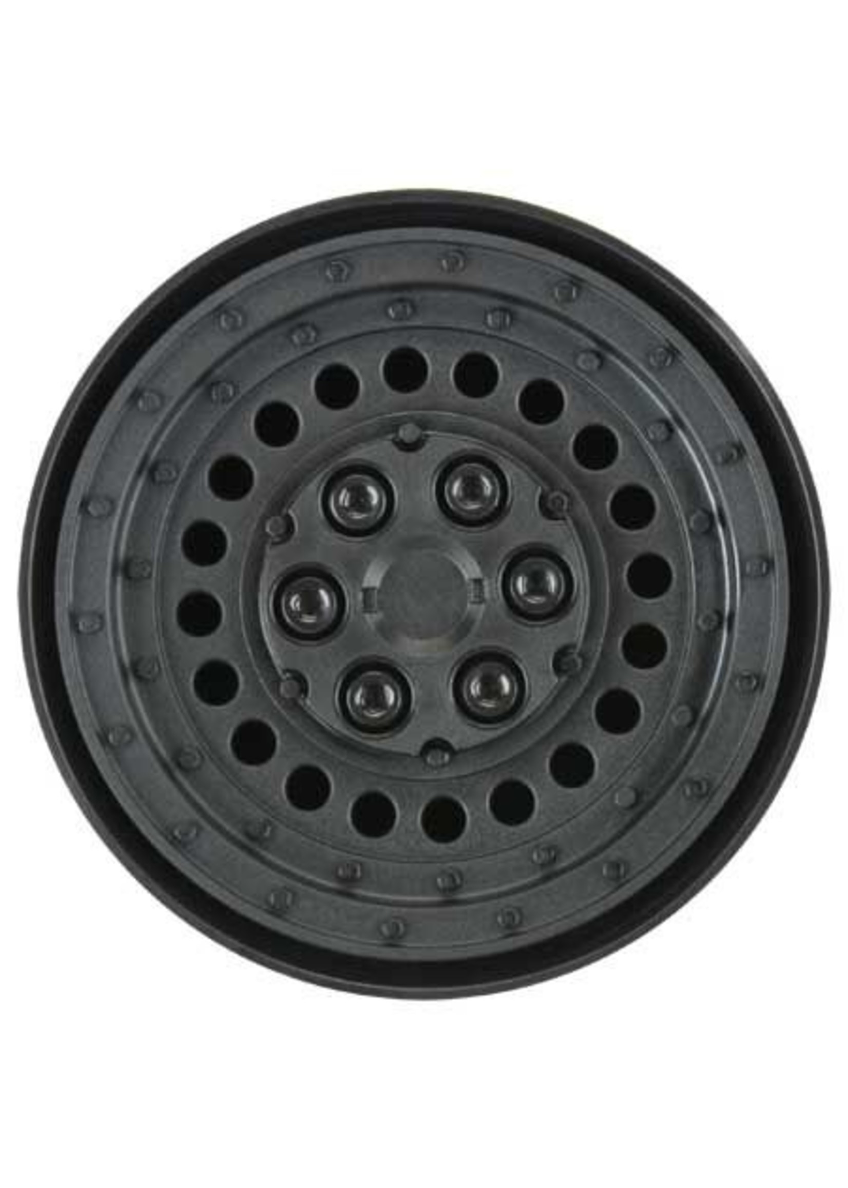 """Pro-Line Racing PRO278600 Pro-Line Carbine 1.9"""" Black Dually Wheels for Crawlers F/R"""