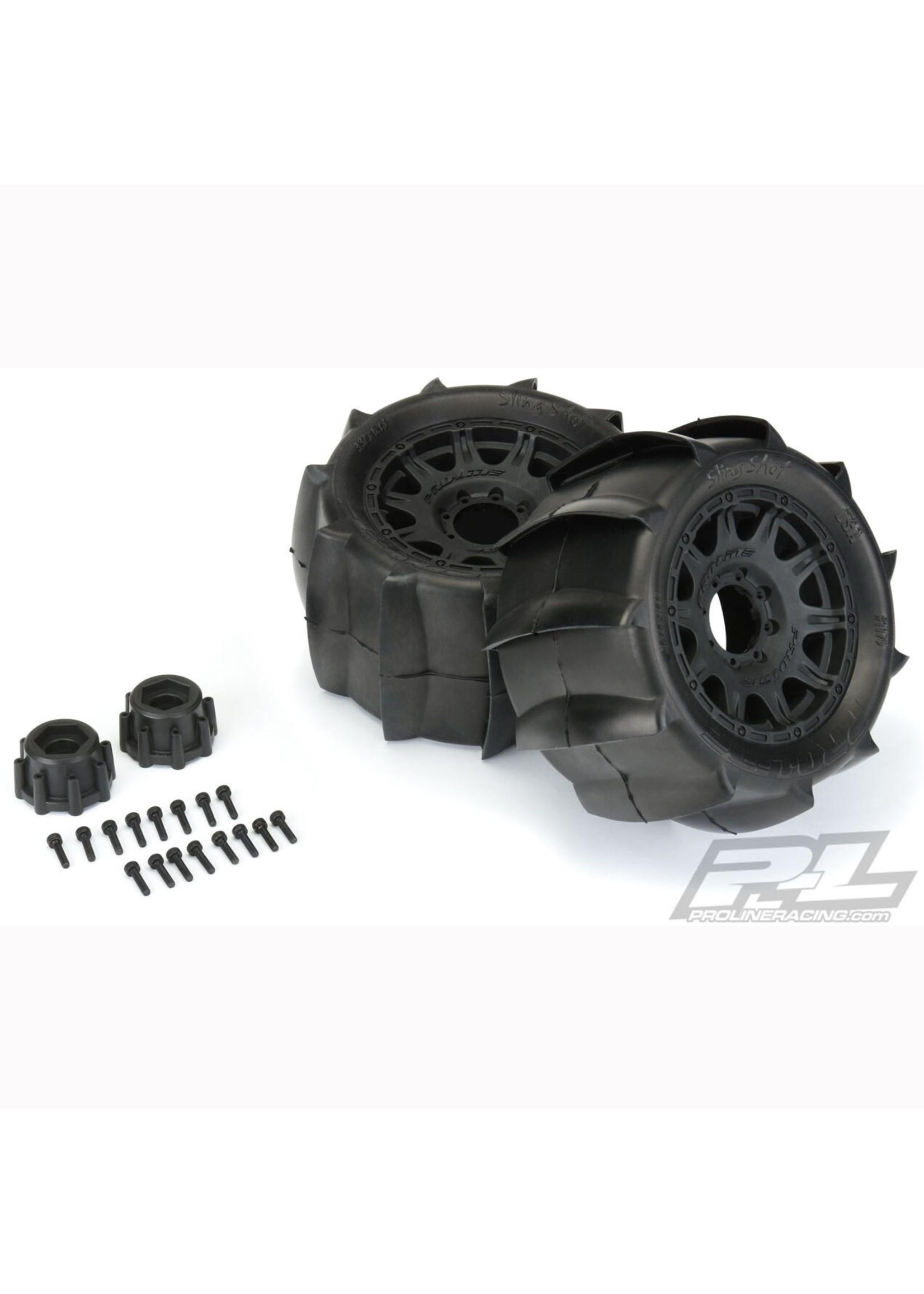 Pro-Line Racing PRO1179-10 Pro-Line Sling Shot 3.8'' MTD Raid 8x32 17mm MT F/R