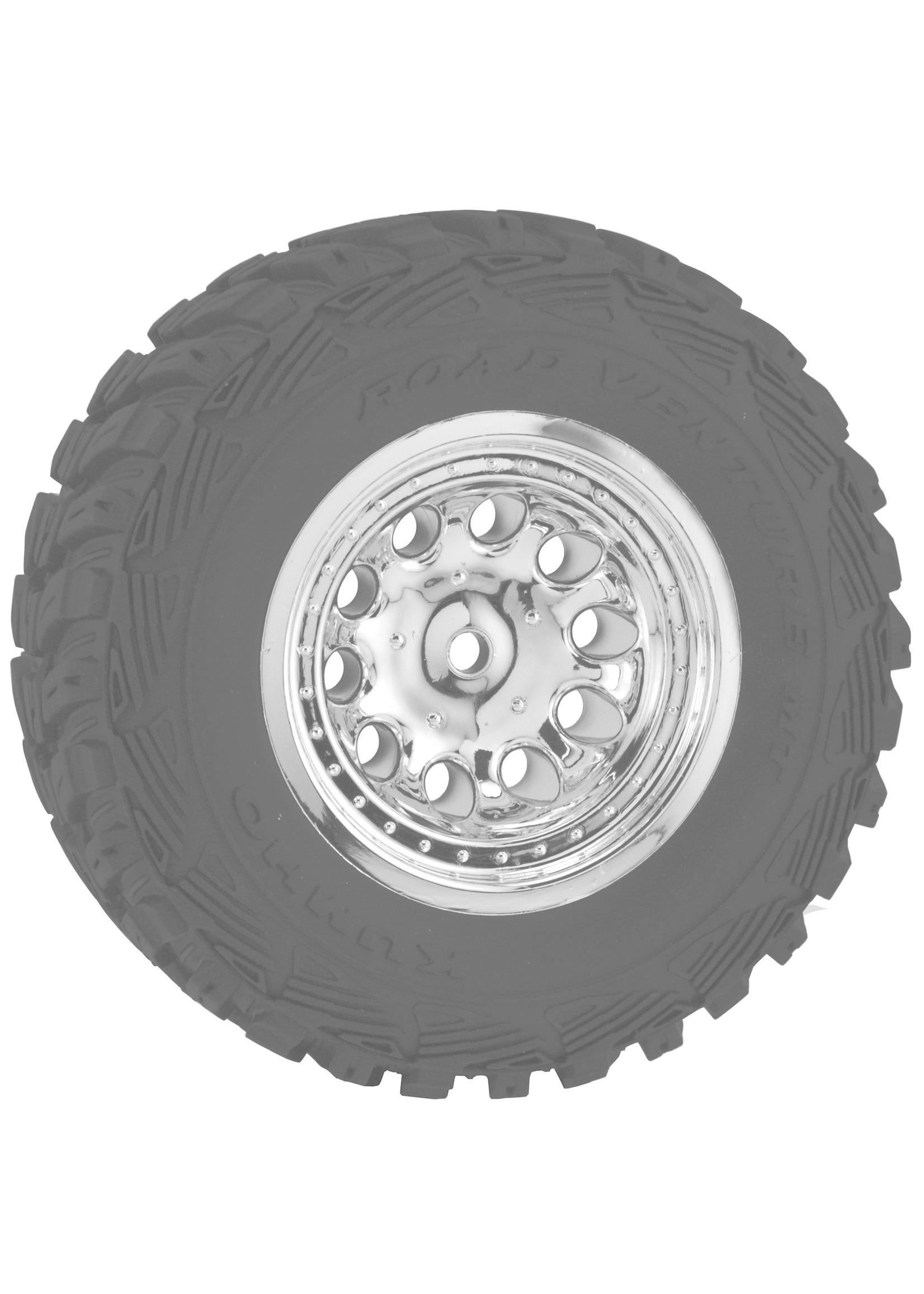 RPM RPM82323 RPM Front Revolver Wheels, Chrome(2): Slash 2WD