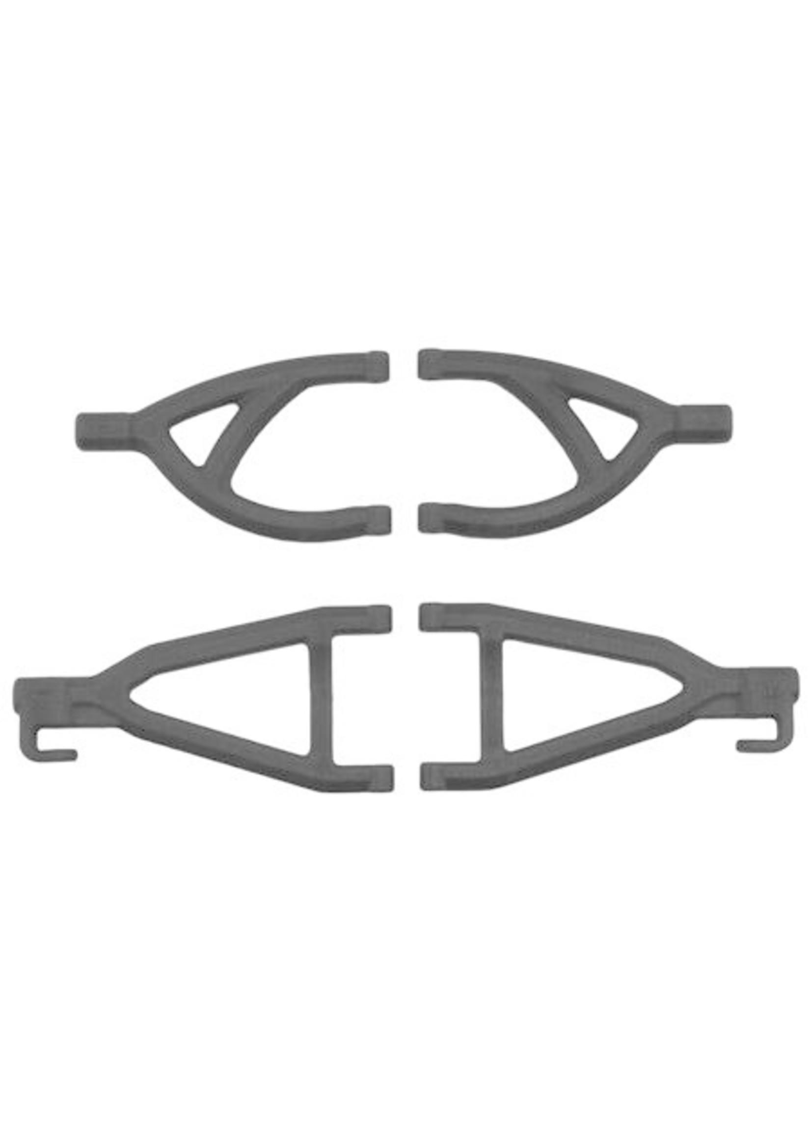 RPM RPM80602 RPM Rear Upper/Lower A- Arms, for Traxxas 1/16 E-Revo, Black