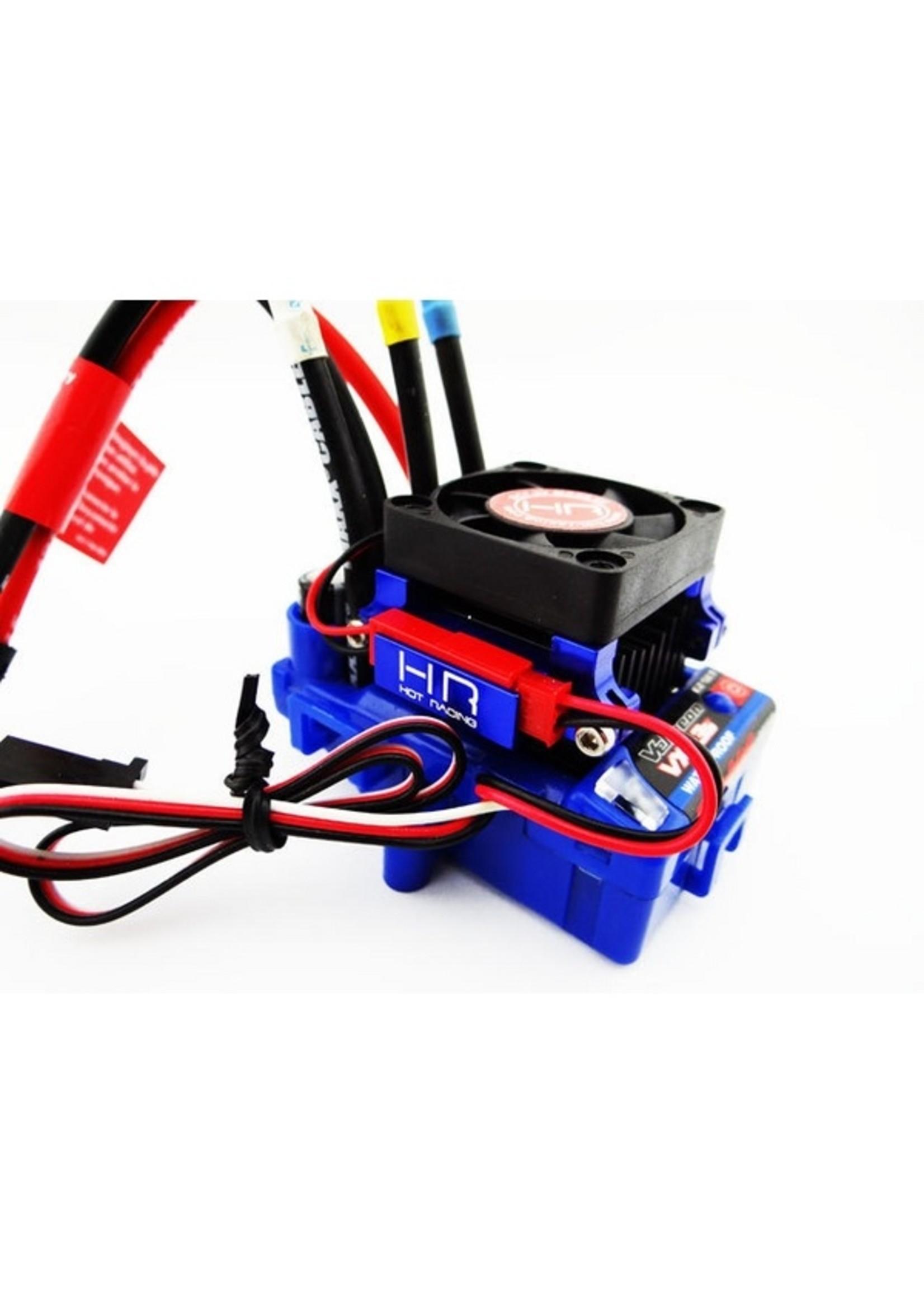 Hot Racing HRAESC303T06 Hot Racing Velineon VXL-3 ESC Heat Sink, High Velocity Fan