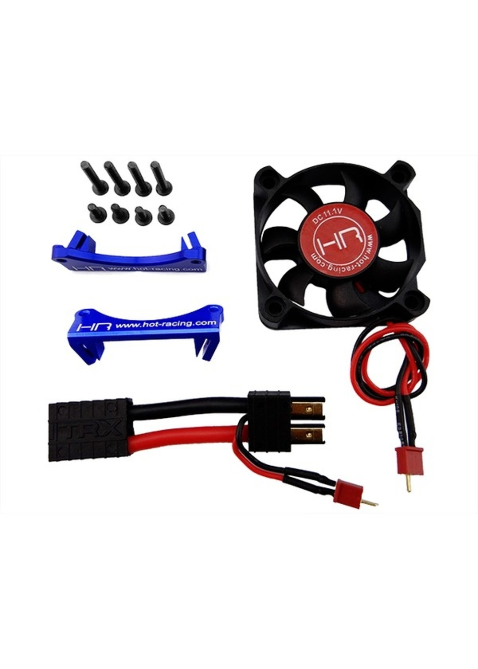 Hot Racing HRAAON505F06 Hot Racing Arrma 1/8 3 Cell Monster Blower Motor Cooling Fan Kit