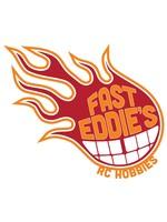 Fast Eddie's RC Hobbies FAS0002 Fast Eddie's Logo T-Shirt, Mens Black