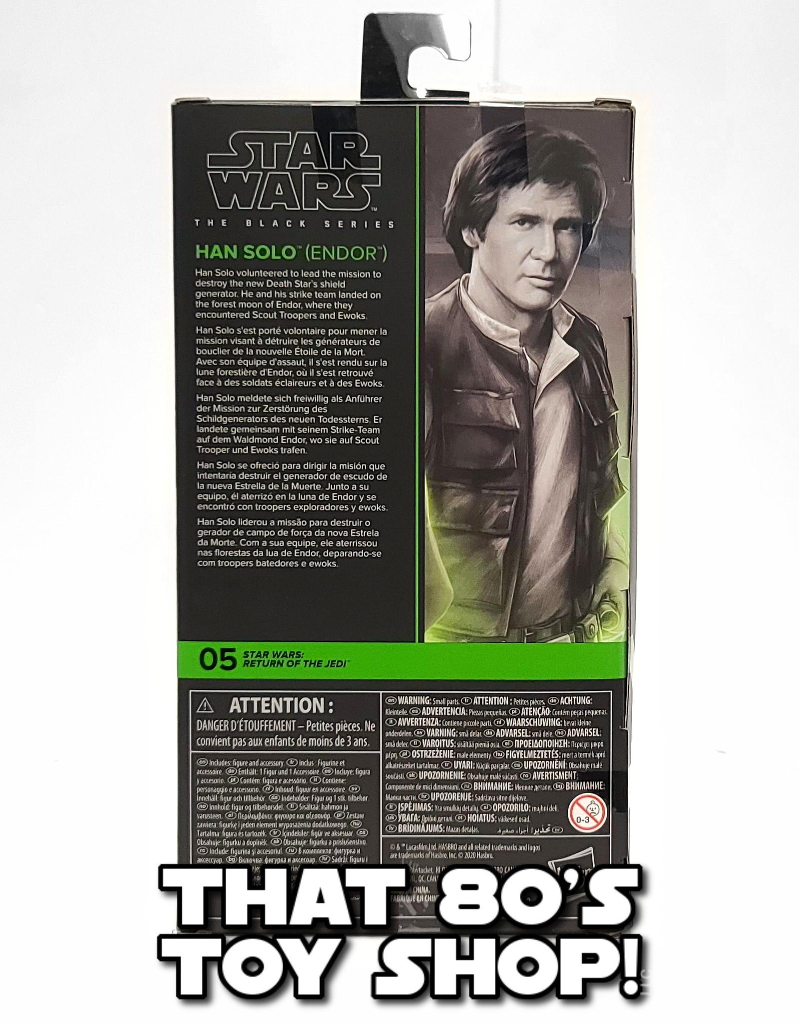 HASBRO Black Series: Han Solo (Endor) (2020)