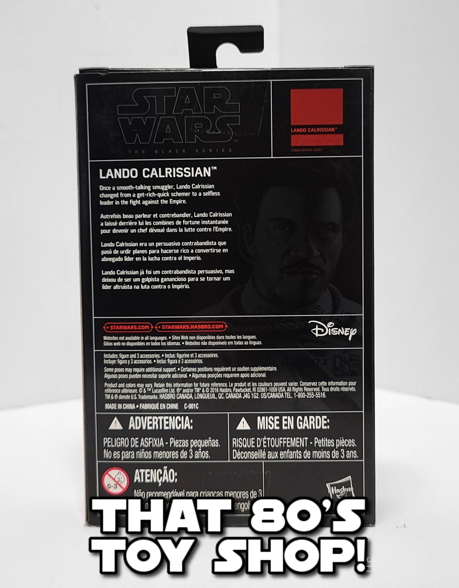 "HASBRO Black Series: Lando Calrissian 3.75"""