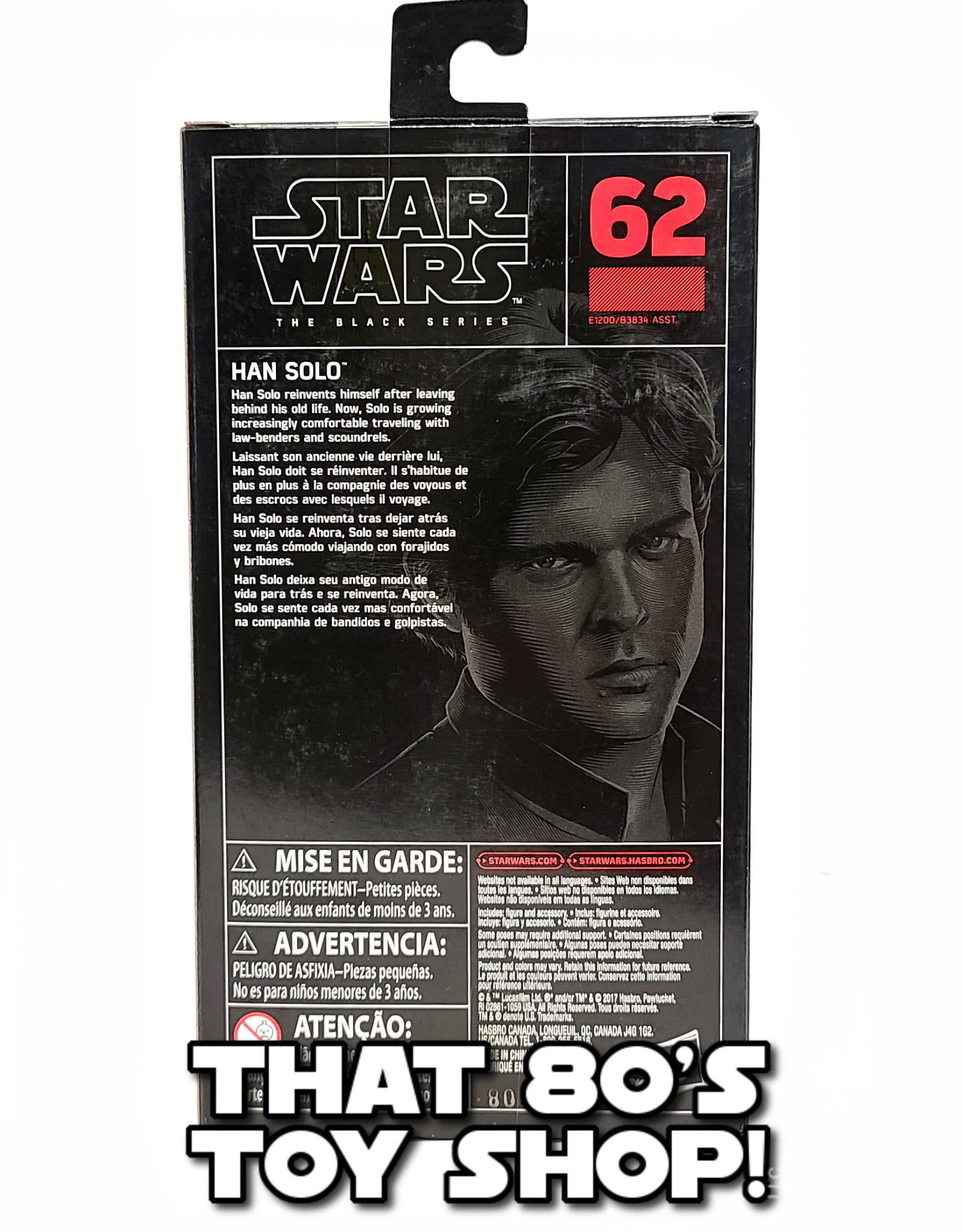 HASBRO Black Series: Han Solo (2018)