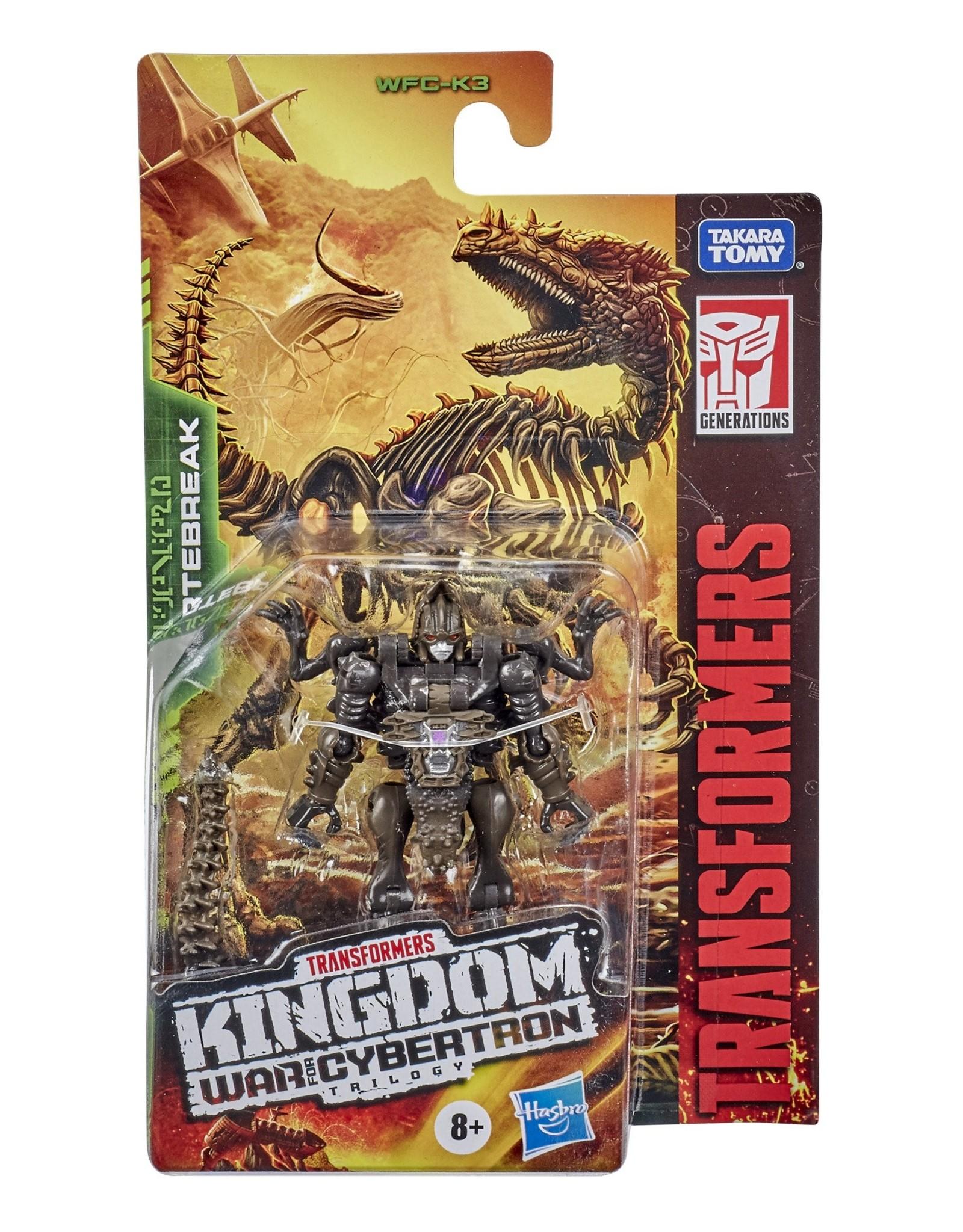 HASBRO Transformers Generations War for Cybertron: Kingdom Core Class WFC-K3 Vertebreak