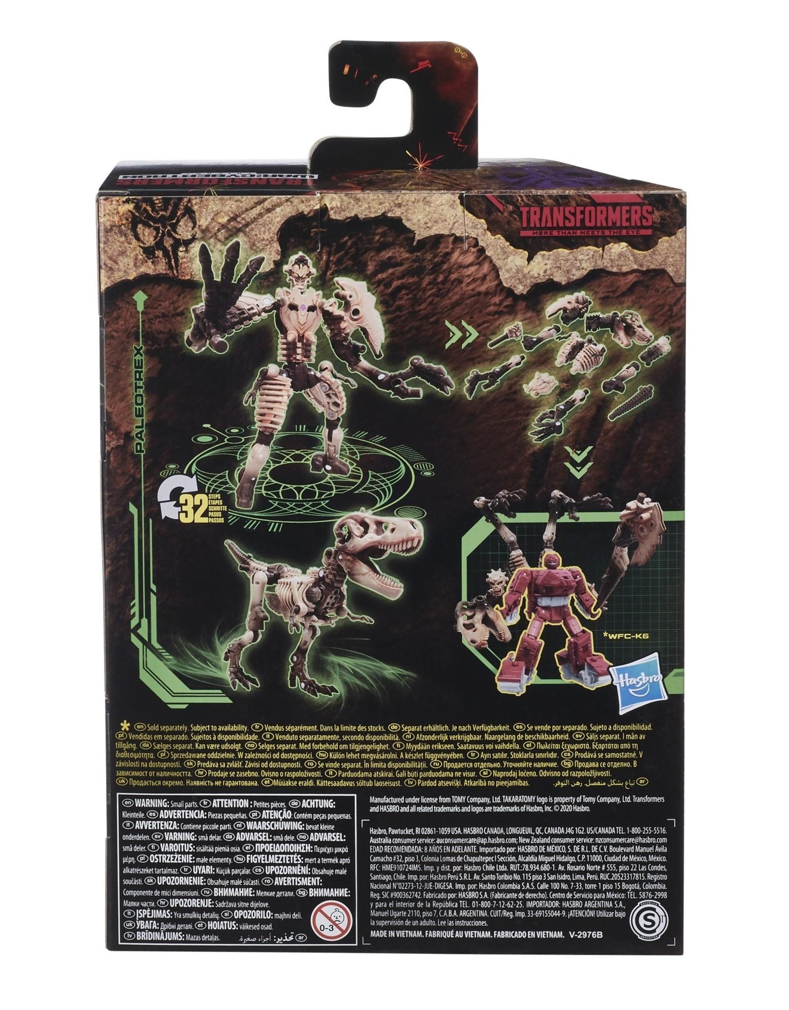 HASBRO Transformers Generations War for Cybertron: Kingdom Deluxe WFC-K7 Paleotrex