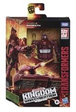 HASBRO Transformers Generations War for Cybertron: Kingdom Deluxe WFC-K6 Warpath
