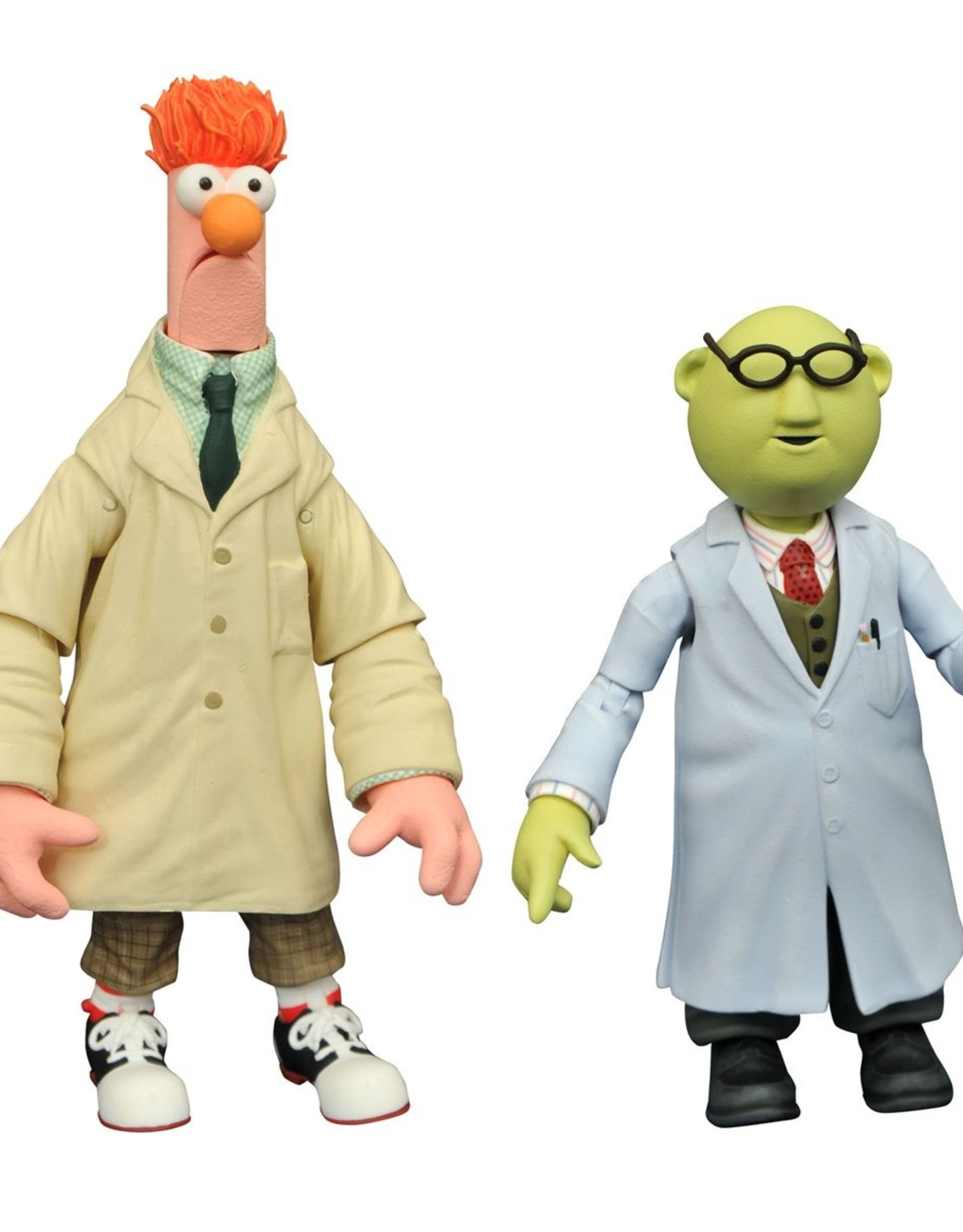 Diamond Select Toys The Muppets Best of Series 1: Bunson and Beaker (2021)