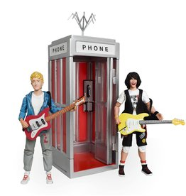 Incendium Bill & Ted's Excellent Adventure 5-Inch Scale Phone Booth