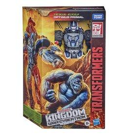 HASBRO Transformers WFC: Kingdom Voyager Optimus Primal (2021)