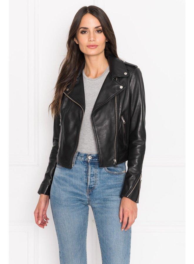 Donna Leather Jacket