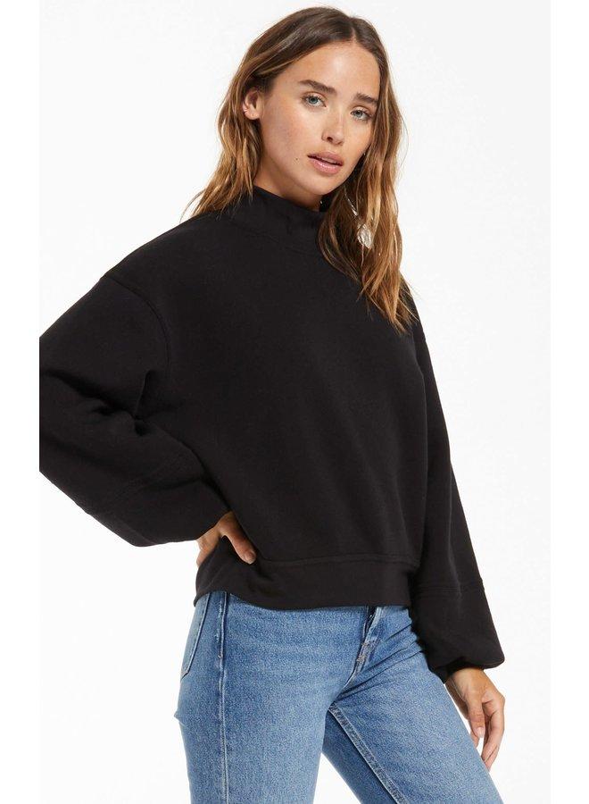 Skylar Mock Neck Pullover
