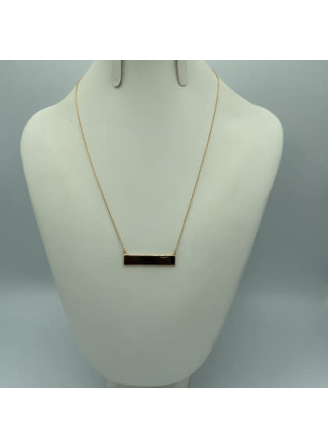 ID Plate Necklace MA131