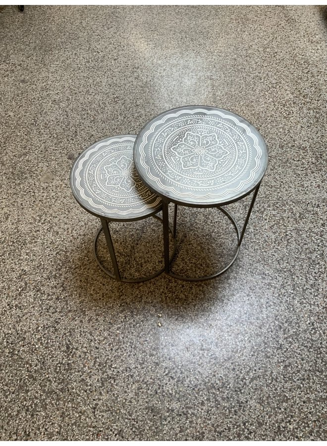 Ricky Road Nesting Tables : Set of 2