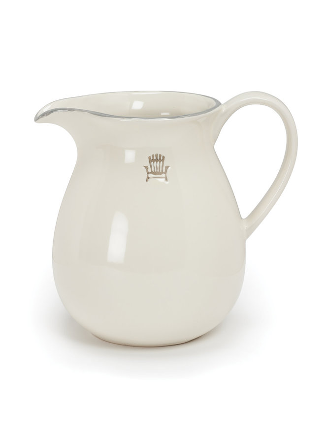 Weekend Pitcher w Cottage Chair H15