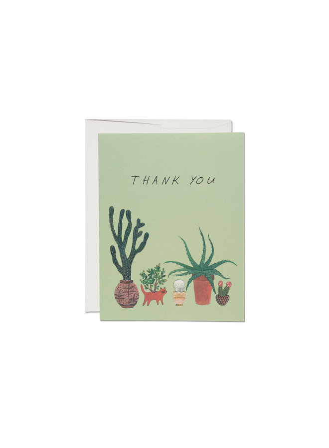 Thank You Cards Red Cap