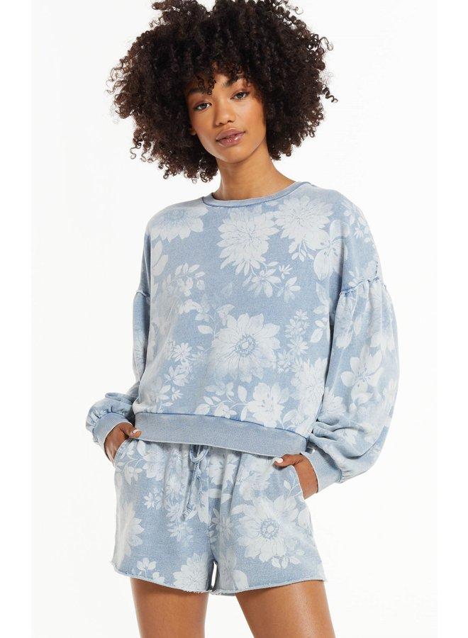Claire Floral Sweatshirt