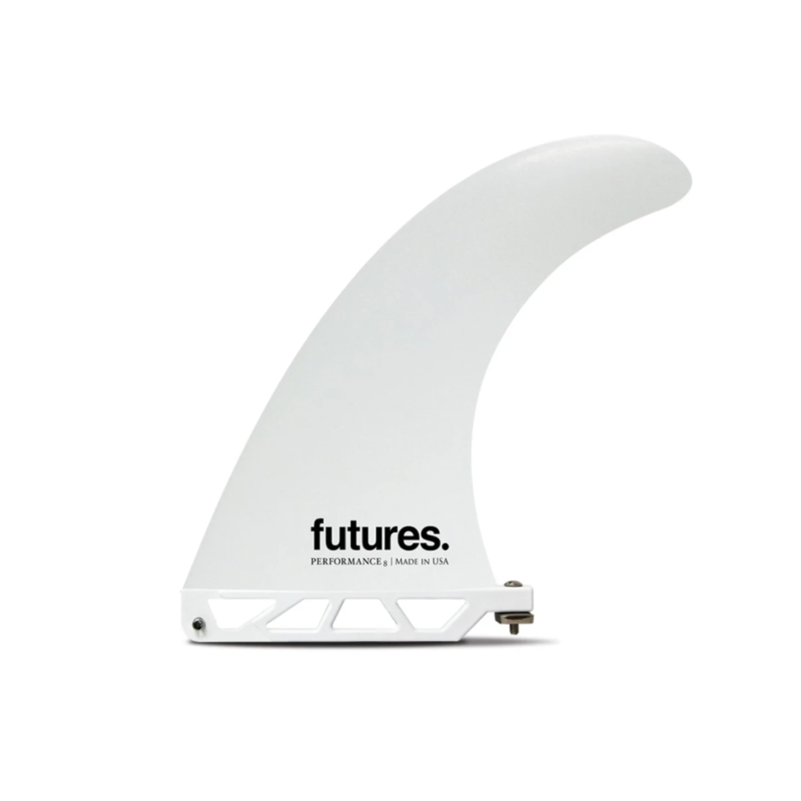 Futures. Futures 8'0 Single Fin White.