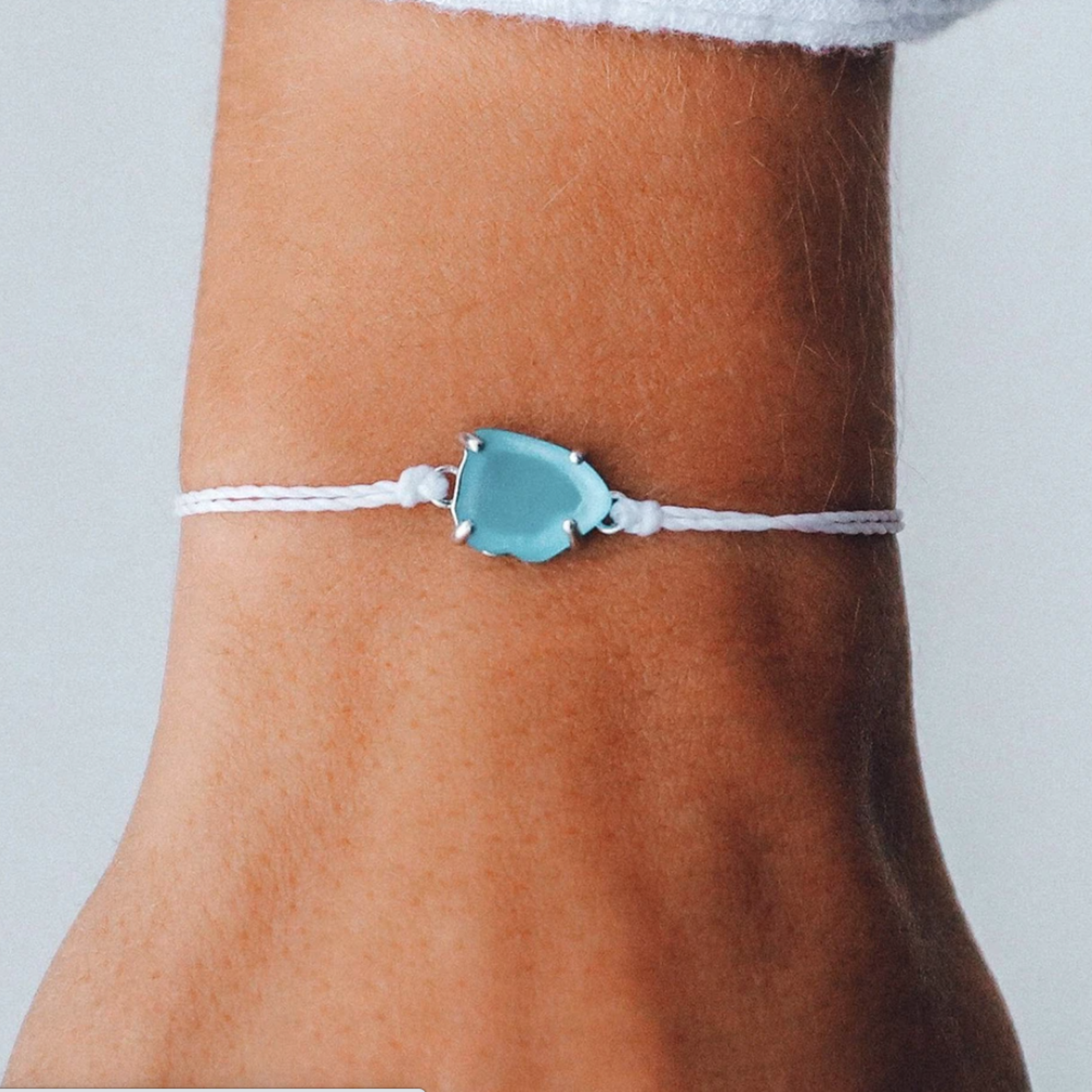 Pura Vida Jewelry Puravida Seaglass Bracelet Silver